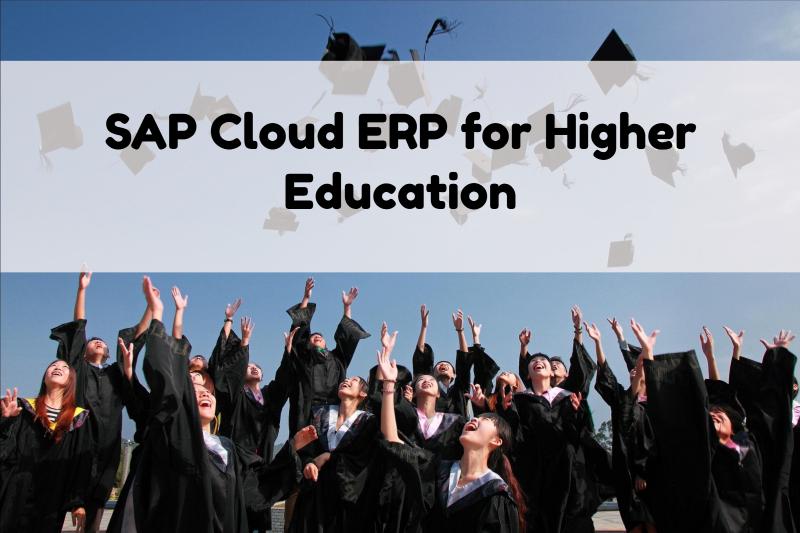 SAP Cloud ERP for HigherEd